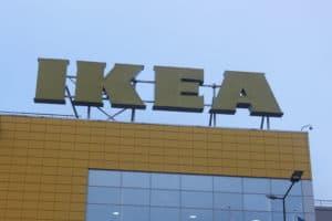 Крышная рекламная конструкция вид с фасада