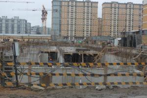Общий вид объекта строительства