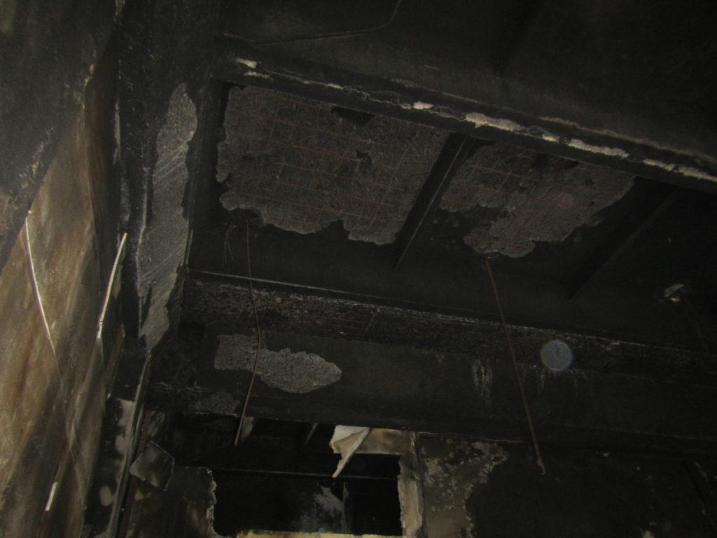 Обследование конструкций после пожара