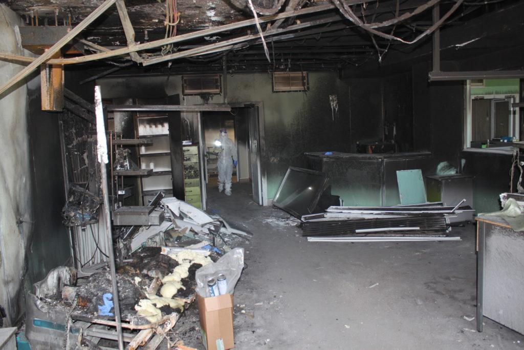 Палата после пожара