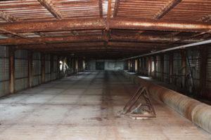 Технических этаж над резервуаром